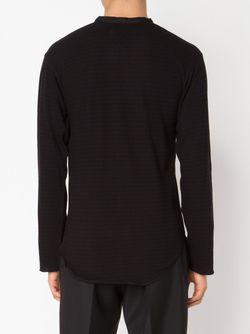 Рубашка С V-Образным Вырезом BED J.W. FORD                                                                                                              чёрный цвет
