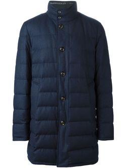 Дутая Куртка Moncler                                                                                                              синий цвет