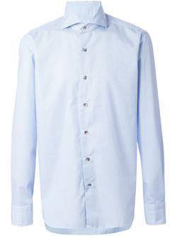 Рубашка В Мелкую Точку DANDYLIFE                                                                                                              синий цвет