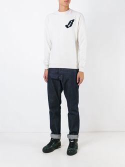 Толстовка С Вышитым Логотипом Billionaire Boys Club                                                                                                              серый цвет