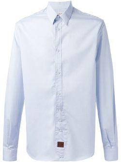 Классическая Рубашка AL DUCA D'AOSTA                                                                                                              синий цвет