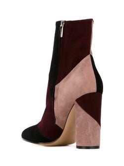 Ботинки С Панельным Дизайном Gianvito Rossi                                                                                                              черный цвет