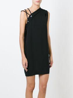 Платье Асимметричного Кроя Iro                                                                                                              чёрный цвет