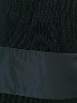 Водолазка С Контрастной Вставкой Moncler                                                                                                              чёрный цвет