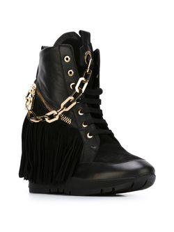 Ботинки Manituou Dsquared2                                                                                                              черный цвет