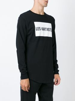Рубашка С Принтом LES ARTISTS                                                                                                              черный цвет