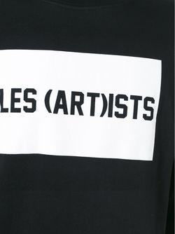 Рубашка С Принтом LES ARTISTS                                                                                                              чёрный цвет