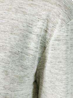 Футболка С Длинными Рукавами T By Alexander Wang                                                                                                              серый цвет