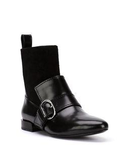 Ботинки С Ремешком На Пряжке 3.1 Phillip Lim                                                                                                              черный цвет