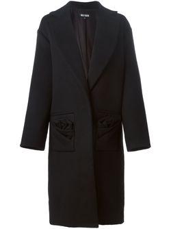 Однобортное Пальто Holly Fulton                                                                                                              чёрный цвет