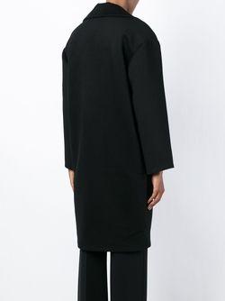 Однобортное Пальто Holly Fulton                                                                                                              черный цвет