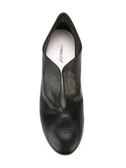 Туфли С Разрезами Спереди Marsell                                                                                                              черный цвет