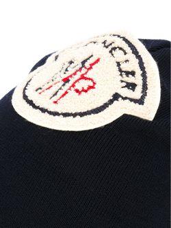 Шапка С Вышитым Логотипом MONCLER X AMI                                                                                                              синий цвет