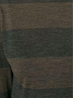 Полосатая Футболка С Длинными Рукавами Eleventy                                                                                                              серый цвет