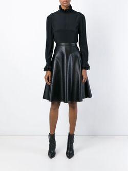 Блузка С Кружевным Воротником И Манжетами Philosophy                                                                                                              чёрный цвет