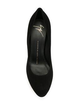 Туфли На Шпильке Giuseppe Zanotti Design                                                                                                              чёрный цвет