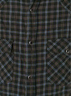 Рубашка В Клетку Dondup                                                                                                              зелёный цвет