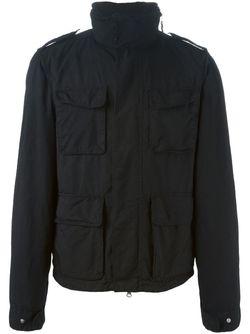 Куртка-Ветровка На Молнии Aspesi                                                                                                              черный цвет