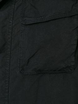 Куртка-Ветровка На Молнии Aspesi                                                                                                              чёрный цвет