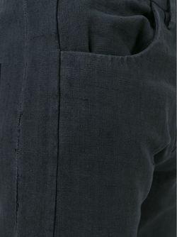 Брюки Из Постельного Белья Итальянской Армии Label Under Construction                                                                                                              чёрный цвет
