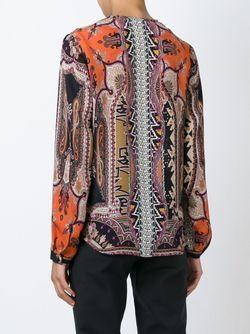 Блузка С Принтом Etro                                                                                                              многоцветный цвет