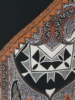 Блузка С Принтом Пейсли Etro                                                                                                              черный цвет