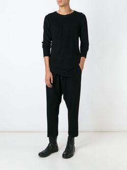 Асимметричный Свитер Forme D'Expression                                                                                                              чёрный цвет