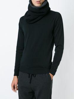 Вязаный Шарф-Хомут Forme D'Expression                                                                                                              черный цвет