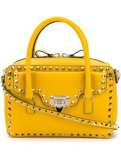 Сумка-Тоут Rockstud Valentino Garavani                                                                                                              желтый цвет