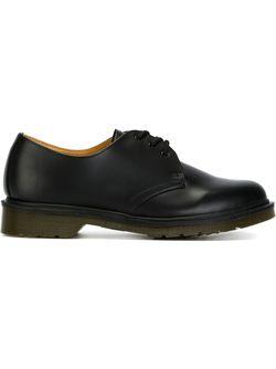 Туфли На Шнуровке Dr. Martens                                                                                                              черный цвет