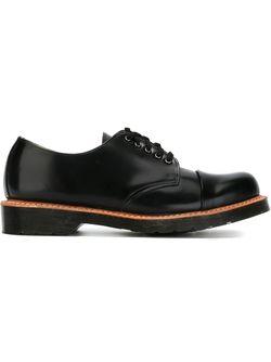 Классические Туфли Броги Dr. Martens                                                                                                              черный цвет