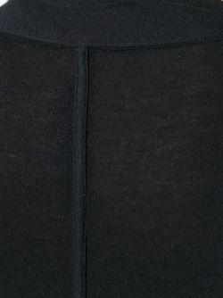 Свитер С Длинными Рукавами Rick Owens Lilies                                                                                                              чёрный цвет