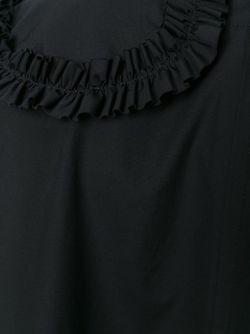Блузка С Оборками COMME DES GARCONS COMME DES GARCONS                                                                                                              чёрный цвет