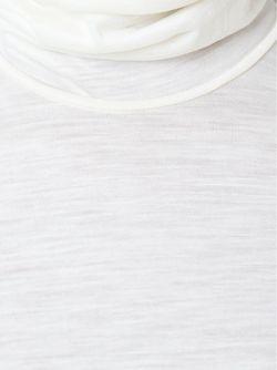 Свитер С Высоким Горлом Forte Forte                                                                                                              белый цвет