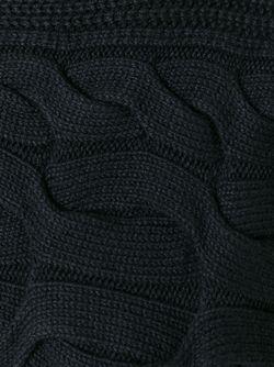Вязаный Свитер Alexander McQueen                                                                                                              черный цвет