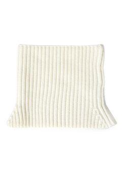 Трикотажный Шарф-Стойка Neil Barrett                                                                                                              белый цвет