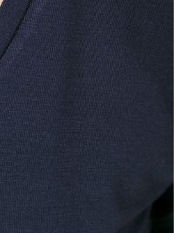Футболка С Глубоким Вырезом MAJESTIC FILATURES                                                                                                              синий цвет