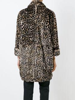 Пальто С Леопардовым Принтом Gianluca Capannolo                                                                                                              коричневый цвет