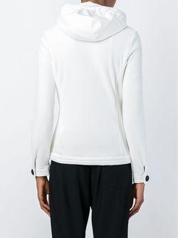 Фактурная Куртка Из Неопрена Moncler Grenoble                                                                                                              белый цвет