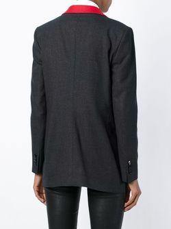 Пиджак С Контрастным Воротником Tagliatore                                                                                                              серый цвет