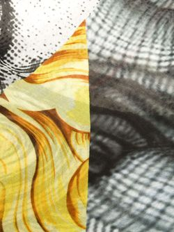 Шарф Medusa Versace                                                                                                              чёрный цвет