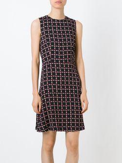 Платье Без Рукавов С Принтом Marni                                                                                                              чёрный цвет