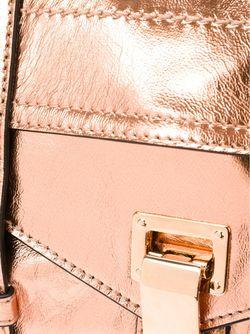 Маленькая Сумка-Сэтчел Ps1 Proenza Schouler                                                                                                              серебристый цвет