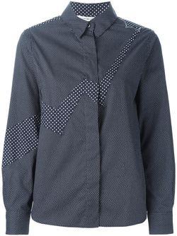 Рубашка В Горошек Tsumori Chisato                                                                                                              синий цвет