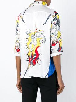 Рубашка С Принтом Tsumori Chisato                                                                                                              белый цвет