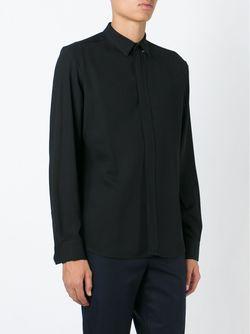 Рубашка С Потайной Застжкой Stephan Schneider                                                                                                              чёрный цвет