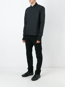 Рубашка С Контрастными Манжетами Stephan Schneider                                                                                                              чёрный цвет