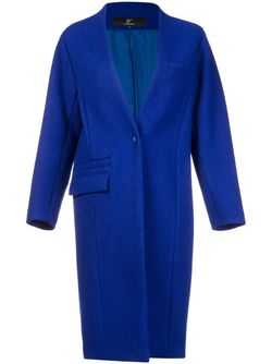 Свободное Пальто LE CIEL BLEU                                                                                                              синий цвет