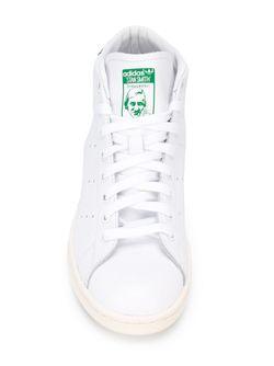 Хайтопы Stan Smith Adidas                                                                                                              белый цвет