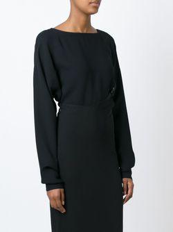 Блузка С Кргулым Вырезом DUSAN                                                                                                              чёрный цвет